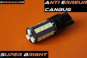 "T20 - W21/5W - 7443 ""Super Bright"" 23 LED SMD CanBus (Paire)"