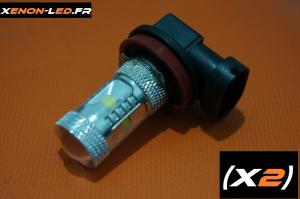 H8 - 6 LED CREE - 30W (Paire)