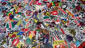 Sticker Bomb Castrol VW 5m x 1.52m