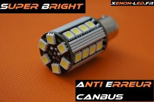 "P21W - BA15S ""Super Bright"" 26 LED SMD CanBus"