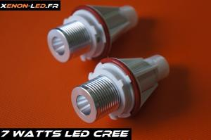 Ampoules Angel Eyes BMW - LED 7W CREE