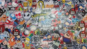 Sticker Bomb SOUTH PARK 1m x 1.52m
