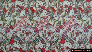 Sticker Bomb HELLO KITTY 100cm x 75cm