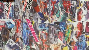 Sticker Bomb Need For Speed 2m x 1.52m