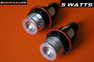 Ampoules Angel Eyes BMW - LED 5W