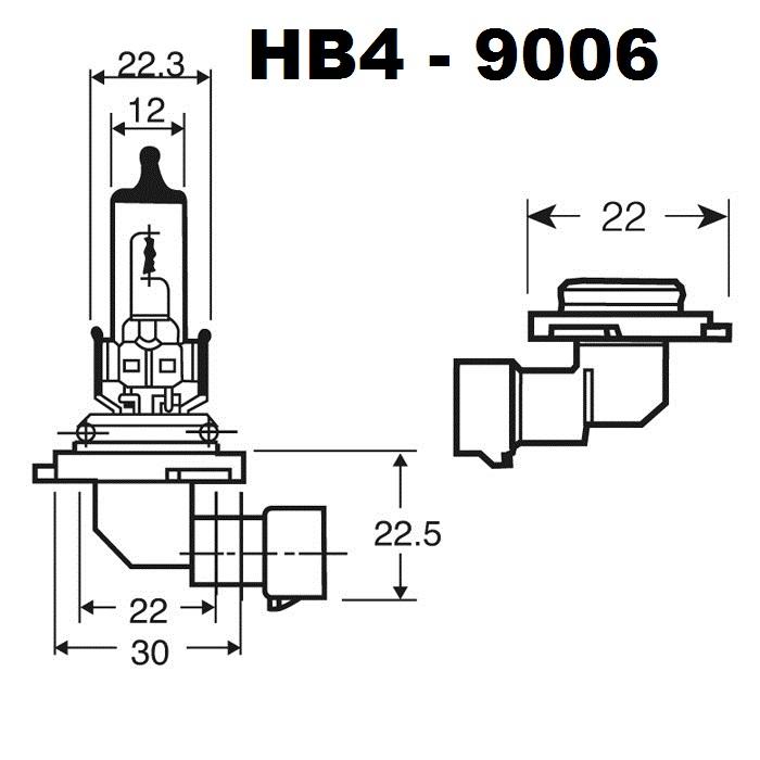 ampoules led hb4